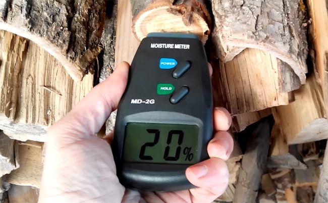 Норма влажности дров