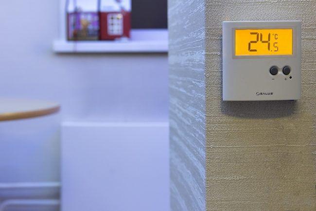 Внешний терморегулятор на ИК обогревателях