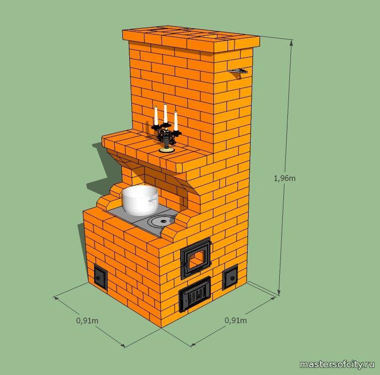 строим печь своими руками пошаговая инструкция