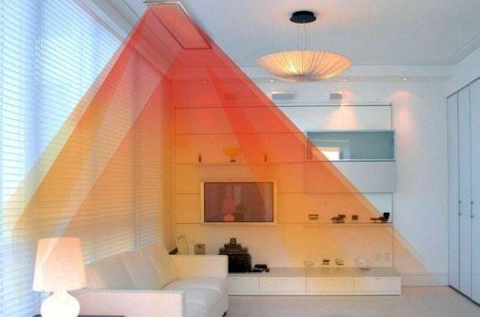 ИК нагреватель обеспечивает комфортный микроклимат