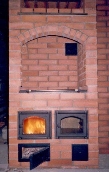 Пример шведки с двумя духовками