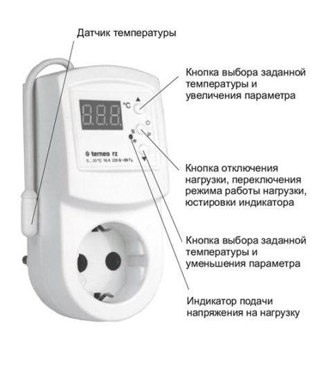 Электроннный терморегулятор