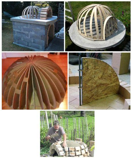 Из фанеры делаем модель купола