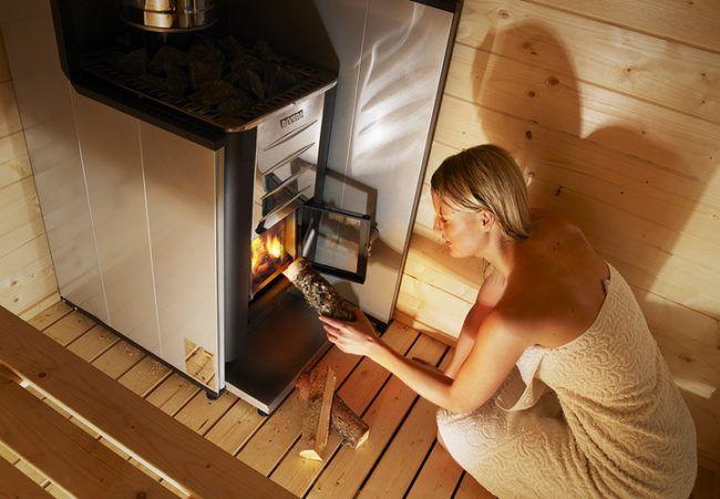 Металлическая печь без обкладки кирпичом