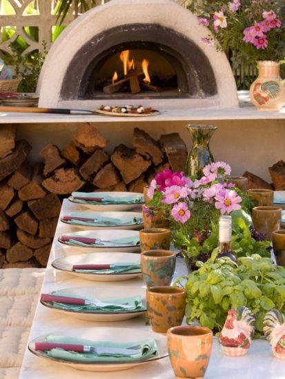 Помпейская печь во дворе