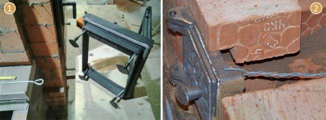 Правильно крепим металлическую дверцу и поддувало