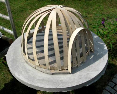 Шаблон из фанеры для купола
