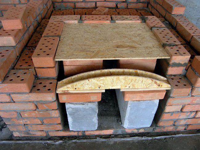 Строим печь для пиццы