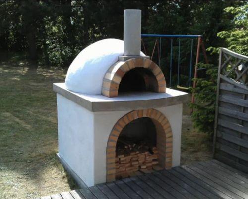 Тосканская печь с более высоким сводом