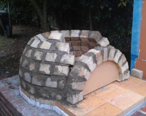 Завершающая кладка купола