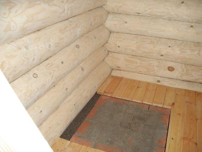 Как сделать фундамент под железную печь в бане