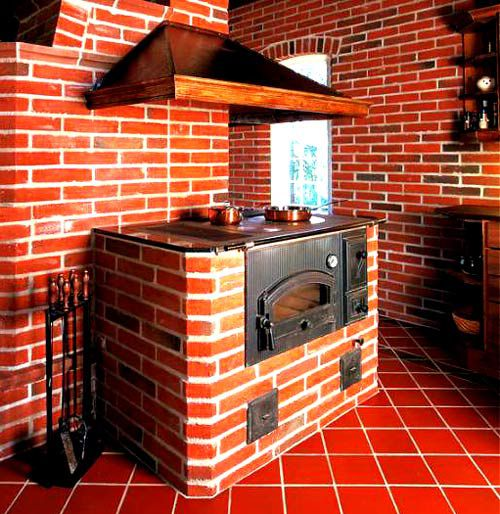 Чтобы в доме было не только тепло, но и красиво: печь для дачи своими руками