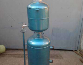 Как самостоятельно смонтировать котел на отработке с водяным контуром