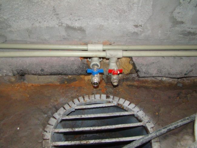 Монтаж трубопровода