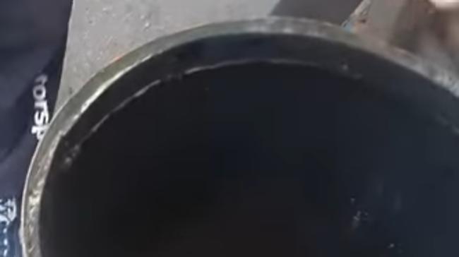 Привариваем кольцо по кругу