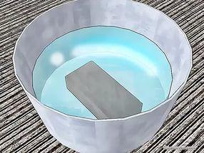 Кирпич в воде
