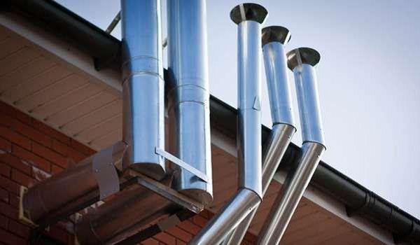 дымоход и вентиляция для газовых котлов