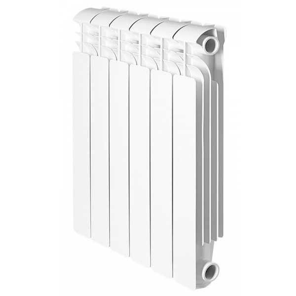 Один из вариантов внешнего вида биметаллического радиатора