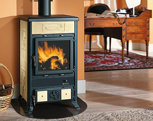 Камин-печка для отопления дома: котел с воздушным отоплением