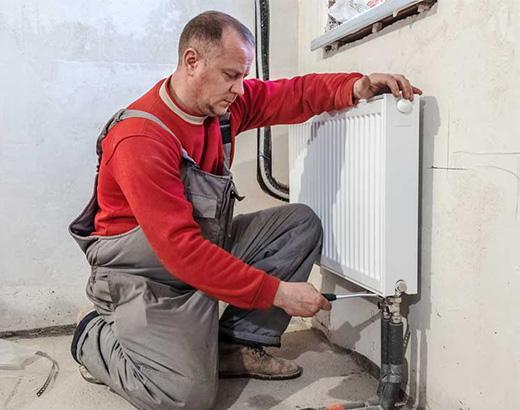 Как установить радиаторы отопления в частном доме