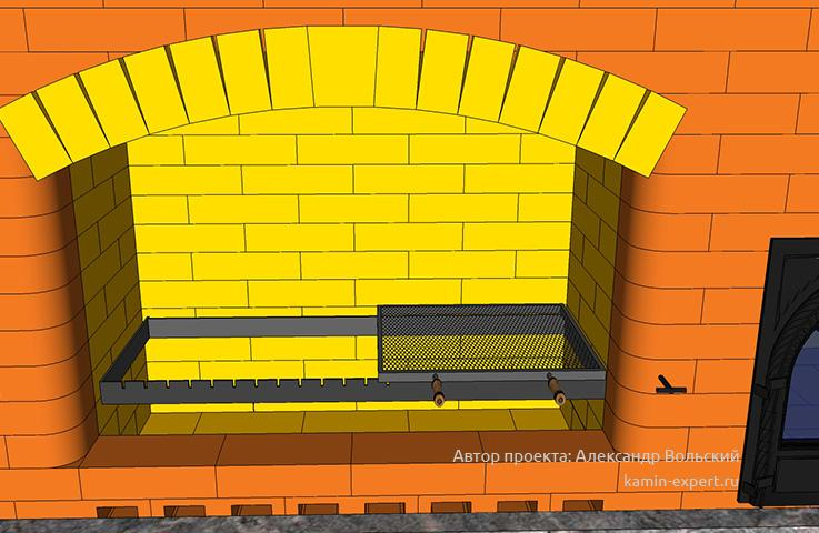 Проект комплекса барбекю № 182 вид 3