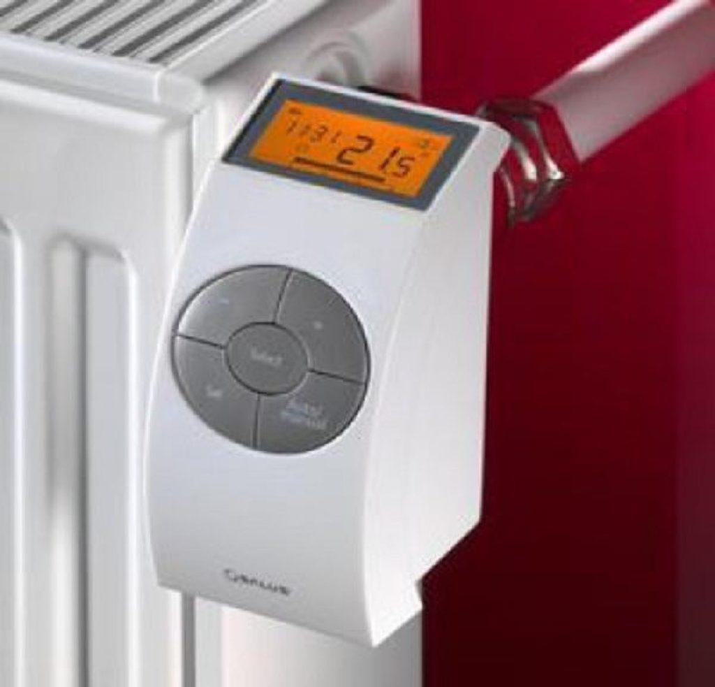 Электронный термостат с выносным датчиком