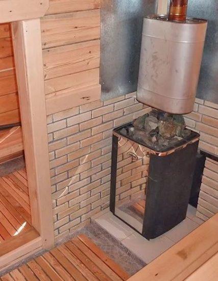 недостатки газовых печей для бани