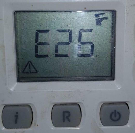 Ошибка Е25