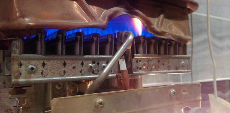 Продувание горелок и жиклеров