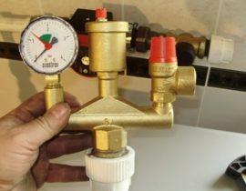Предохранительный клапан системы отопления: устройство, принцип работы, выбор защитного клапана
