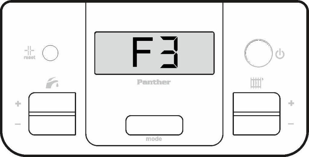 Ошибка F3