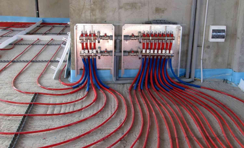 Водяной теплый пол может служить единственным источником отопления дома