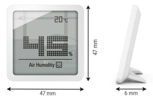 Stadler Form Selina Little Hygrometer White S-080